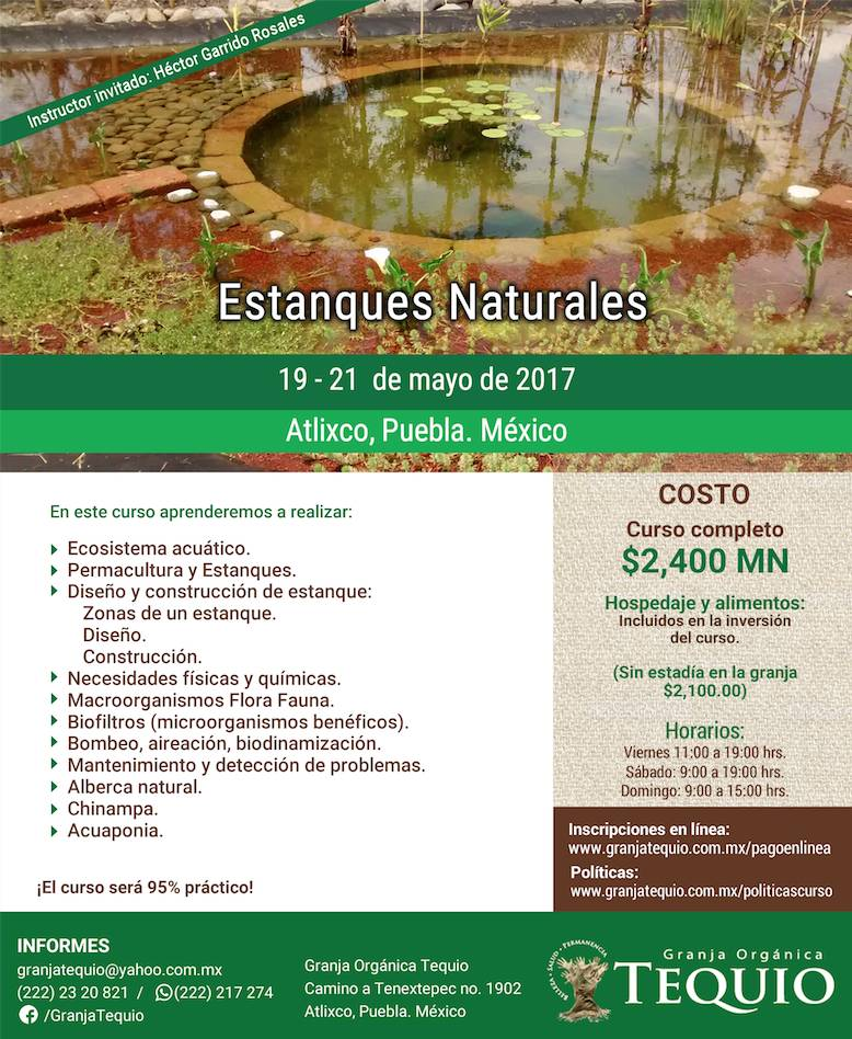 Estanques naturales